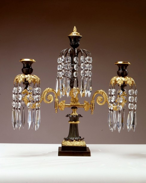 L-Girandole Candelabra by Fletcher & Day