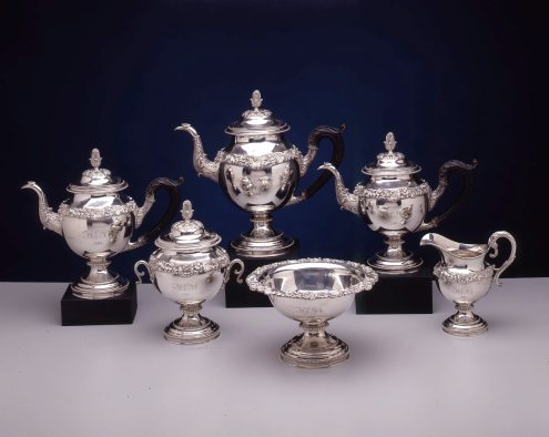 Mt-Silver Tea Service-Harvey Lewis